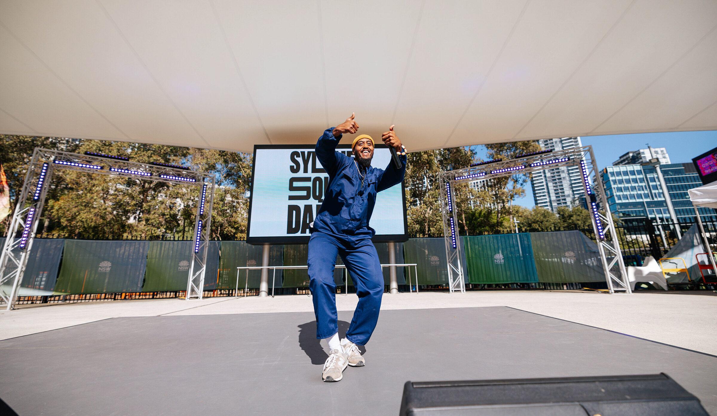 Sydney Square Dance